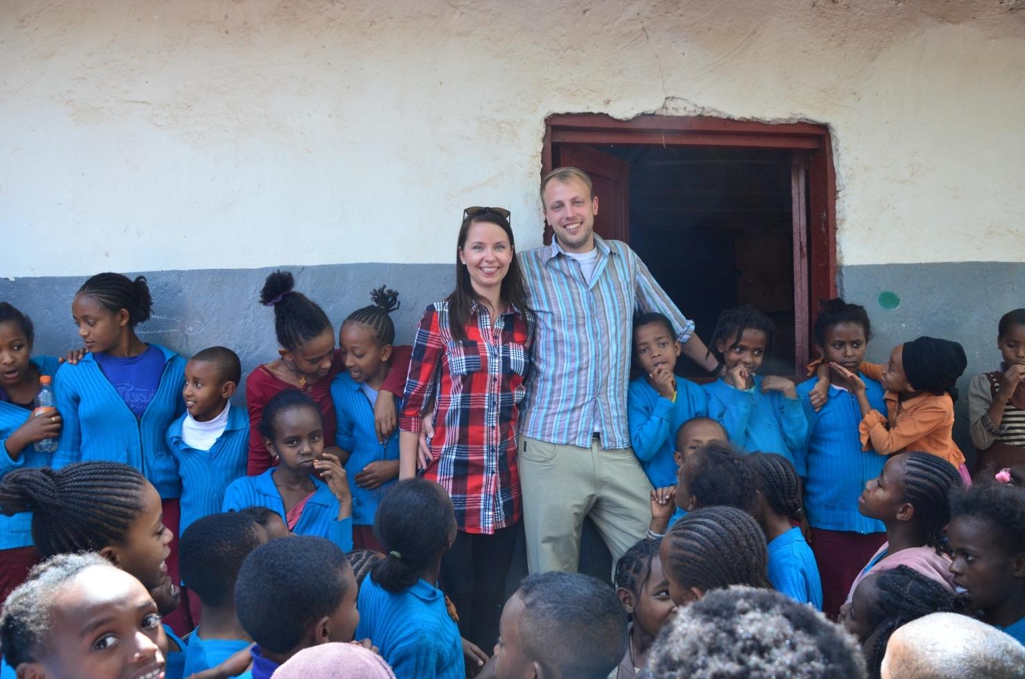 Vabatahtlikuna Etioopias – esteetika tunni õpetajad